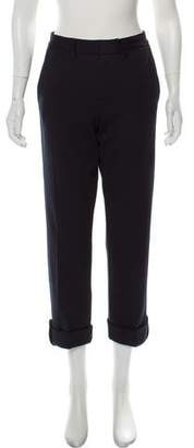 Marc by Marc Jacobs Mid-Rise Straight Pants