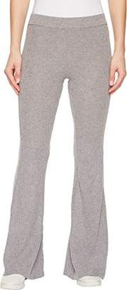 Volcom Junior's Womens' Lil Fitted Rib Fleece Sweatpant