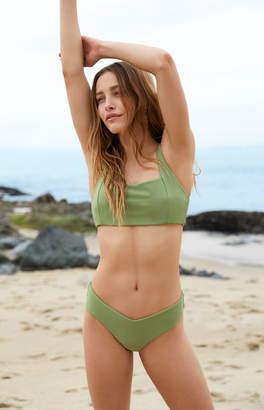 La Hearts Square Neck Bralette Bikini Top
