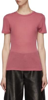 Nanushka 'Guy' rib knit T-shirt