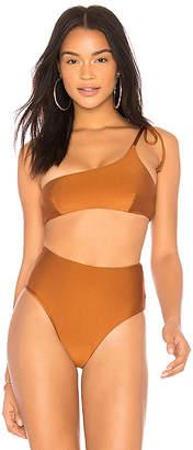 Midsommar Swim Flower Bikini Top