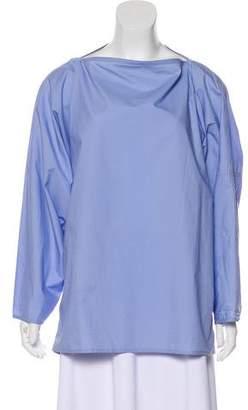 Sofie D'hoore Long Sleeve Oversize Top