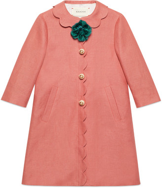 Children's linen coat $1,050 thestylecure.com
