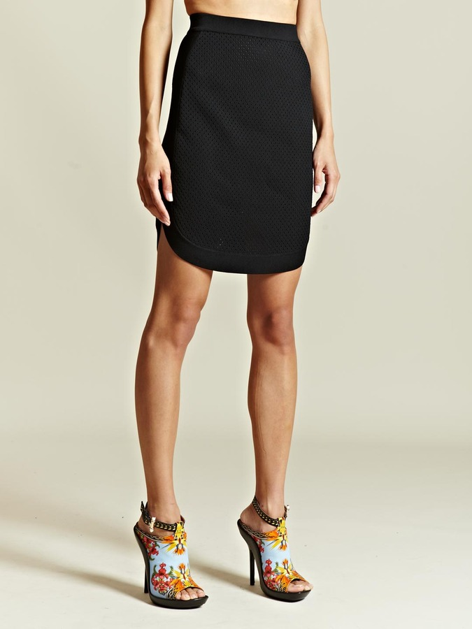 Givenchy Women's Perforated Tablet Skirt