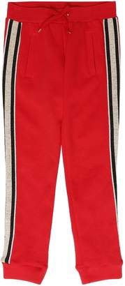 Little Marc Jacobs Milano Jersey Sweatpants W/ Side Bands