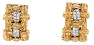 Roberto Coin 18K Diamond Magnifica Earrings
