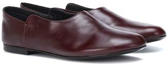 The Row Boheme leather slippers