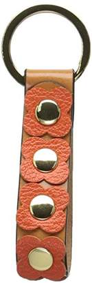 Orla Kiely Giant Flower Leather Key Fob