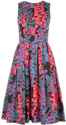 Carolina Herrera floral print midi dress