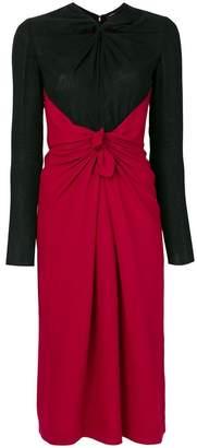 Proenza Schouler ruched detail dress