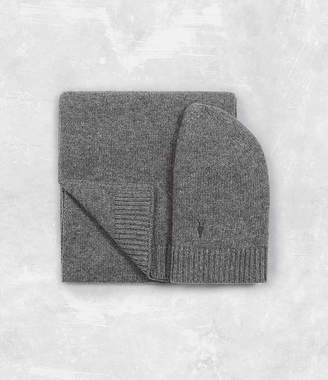 AllSaints Klymore Hat and Scarf Gift Set