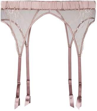 Fleur of England lace suspender belt