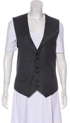 Marc by Marc Jacobs Button-Up Tie Vest