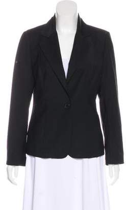Magaschoni Wool Notch-Lapel Blazer