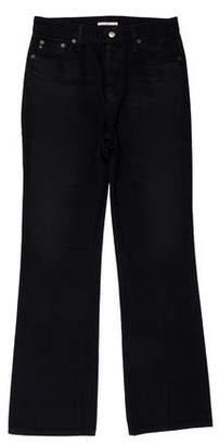 ALEXACHUNG Five Pocket Boot Cut Jeans
