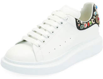 Alexander McQueen Men's Larry Low-Top Sneakers