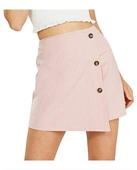 MinkPink Floss Mini Step Hem Skirt
