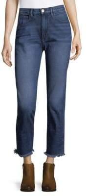 3x1 Straight Crop Jeans