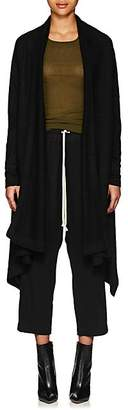 Rick Owens Women's Brushed Cashmere Wrap Cardigan - Black
