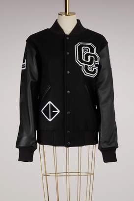 Opening Ceremony Wool Varsity Jacket
