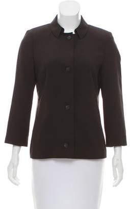 Akris Punto Button-Up Wool Jacket