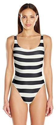 Norma Kamali Women's Super Low Back Mio One Piece Swimsuit