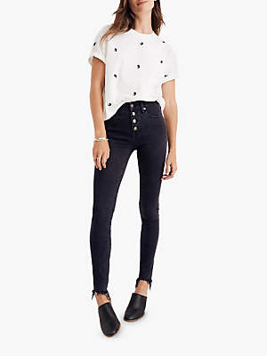 Madewell 9 High Rise Petite Jeans, Berkeley Wash