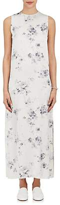Calvin Klein WOMEN'S SILK CHARMEUSE MAXI DRESS