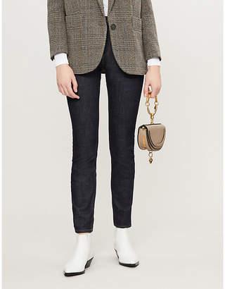 Claudie Pierlot Pepite high-rise skinny stud-detail jeans