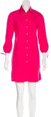 Paul & Joe Point Collar Mini Dress