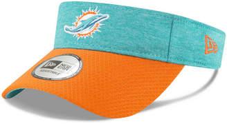 New Era Miami Dolphins On Field Sideline Visor