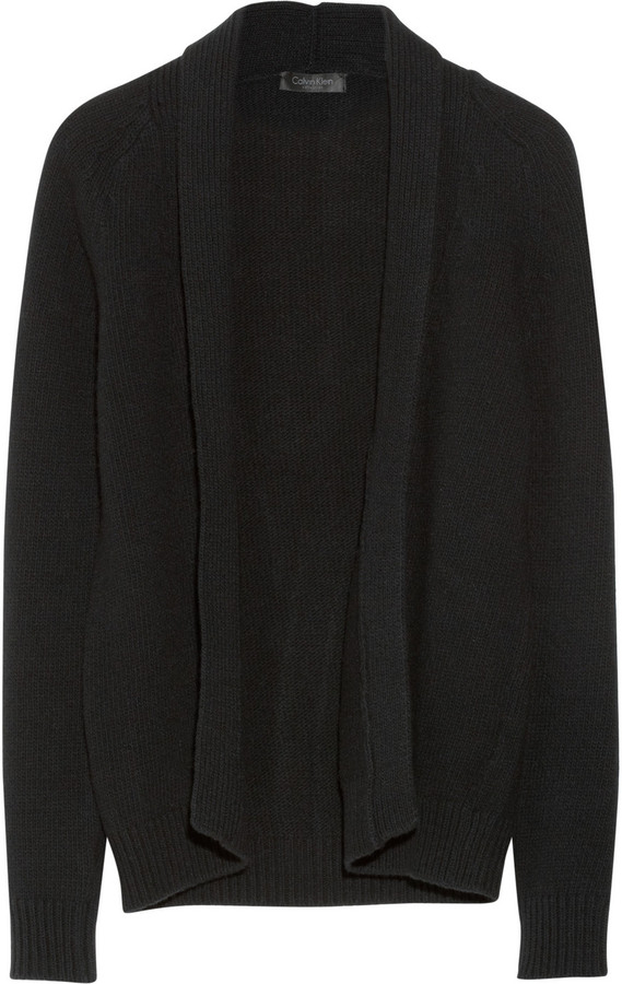 Calvin Klein Collection Odile merino wool and cashmere-blend cardigan