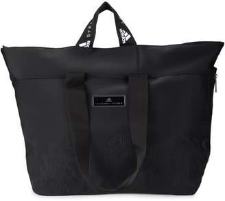 Stella McCartney Adidas By Black Nylon Bag With Animalier Pattern