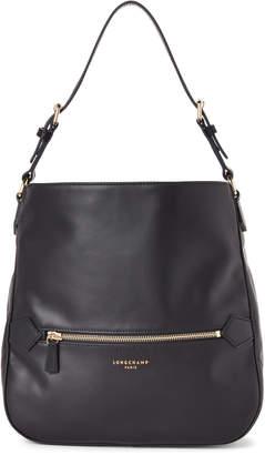 Longchamp Navy 2.0 Leather Hobo