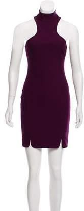 Cinq à Sept High Neck Sleeveless Dress