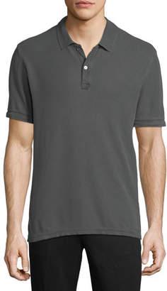ATM Anthony Thomas Melillo Men's Faded Pique Classic Polo Shirt