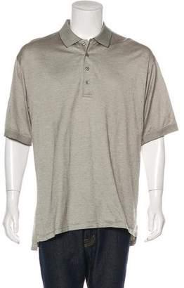 Descente Knit Polo Shirt