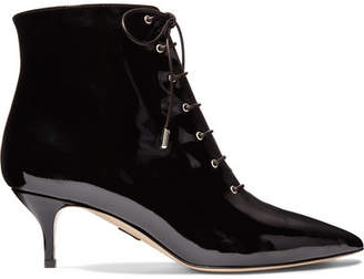 Paul Andrew Nolde Patent-leather Ankle Boots - Black