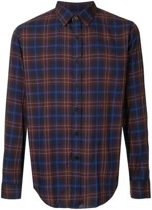 N. Hoolywood plaid long-sleeve shirt
