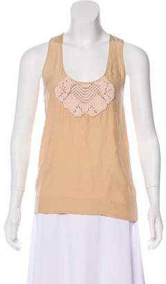 Stella McCartney Silk Sleeveless Top