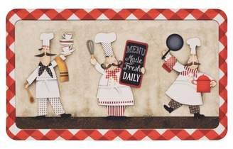 "Mohawk Home Three Panel Chefs Dri- Pro Comfort Kitchen Mat, 18"" x 30"""