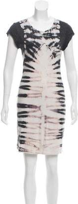 Raquel Allegra Tie-Dye Mini Dress