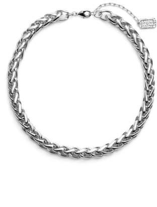 Karine Sultan Braided Link Collar Necklace