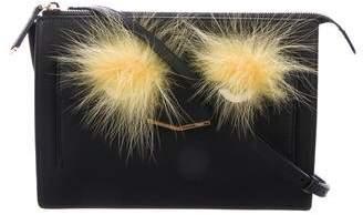Fendi Fox-Accented Demi Jour Bag Bugs Crossbody Bag