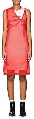 Helmut Lang WOMEN'S ATHLETIC MESH SHIFT DRESS