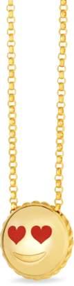 Roberto Coin Love Emoji Pendant Necklace