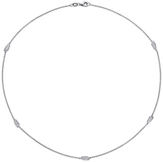 Diamond Select Cuts 18K 0.33 Ct. Tw. Diamond Station Necklace