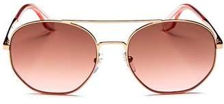 Marc Jacobs Unisex Round Sunglasses, 57mm