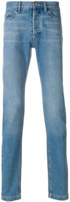 Lanvin high-waisted slim jeans