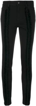 Stella McCartney ruffle-trimmed skinny jeans